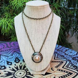 Vintage Concho Necklace